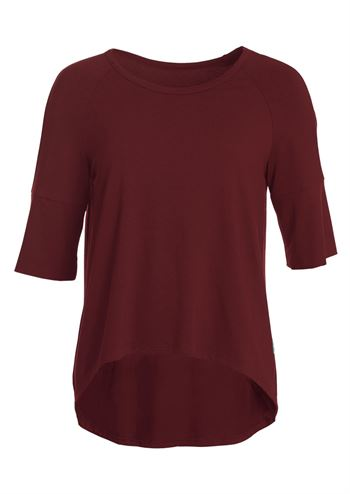 du Milde t-shirt Bodilles Basic Dark Cherry