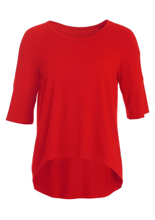 du Milde t-shirt Bodilles Basic Red