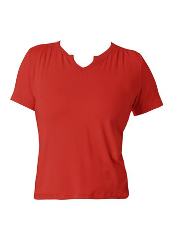 du Milde bluse Petra Basic Red