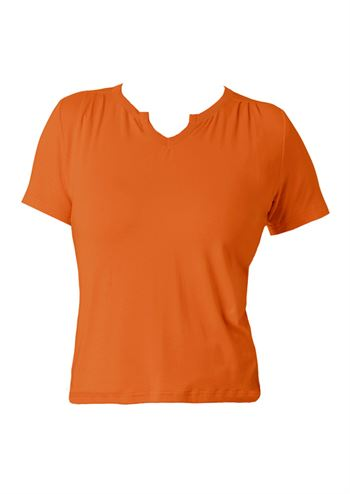 du Milde bluse Petra Basic Orange