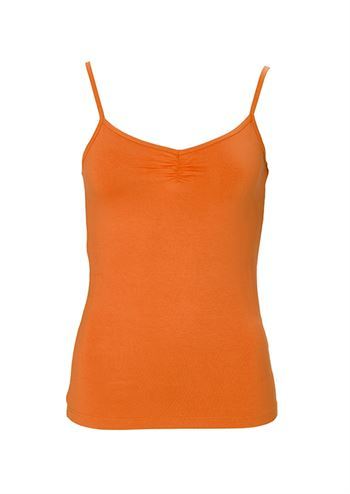 du Milde top Sally Basic Orange