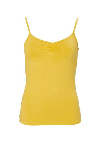 du Milde top Sally Basic Yellow