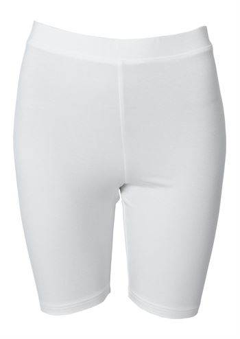 du Milde indershorts Biker Leggings White