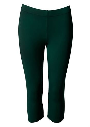 du Milde leggings short bottlegreen