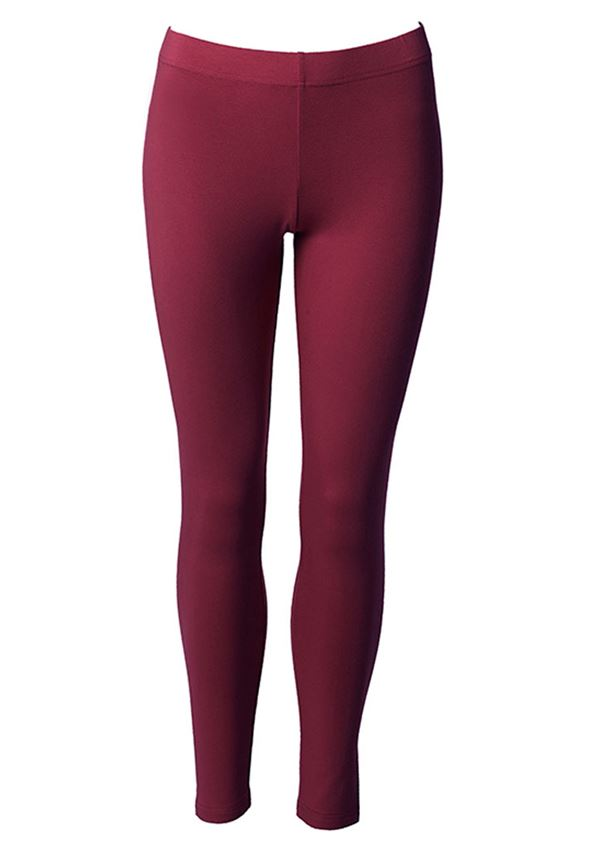du Milde leggings long dark cherry