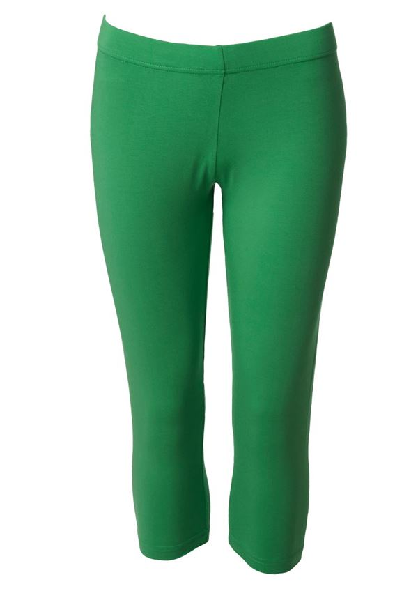 du Milde leggings short dark green