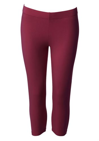 du Milde leggings short dark cherry