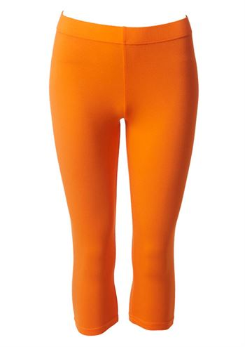 du Milde leggings short orange