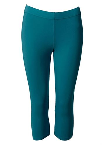 du Milde leggings short petrol