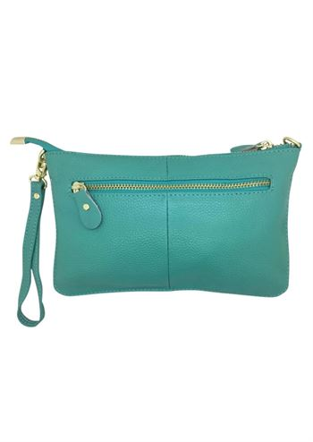 Just D'Lux clutch aqua
