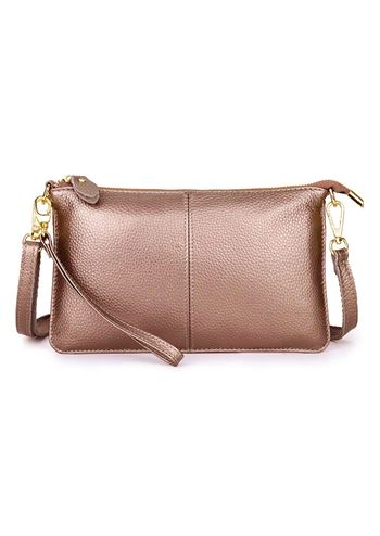 Just D'Lux clutch bronze