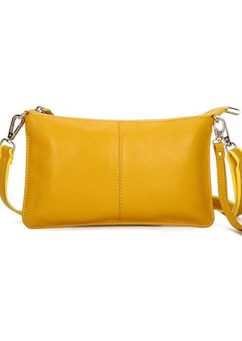Just D'Lux clutch gul
