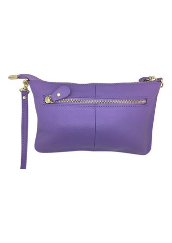 Lyselilla clutch fra Just D'Lux