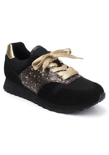 Lola Ramona sneakers SERENA GOLD SPLASH black