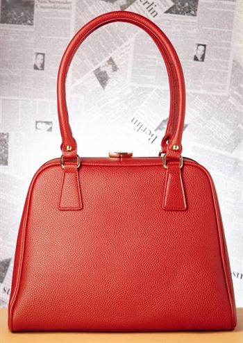 Lola Ramona taske PEGGY warm red