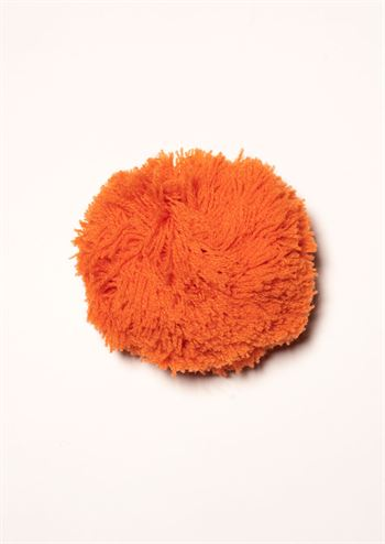 Margot pompom broche Pom de Orange