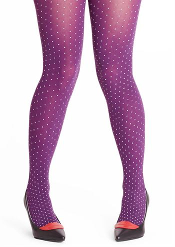Margot tights Purple Drops no 2051