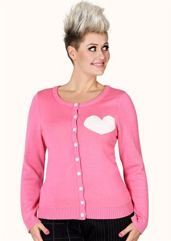 Margot cardigan Bubblegum Pinklove no 1504