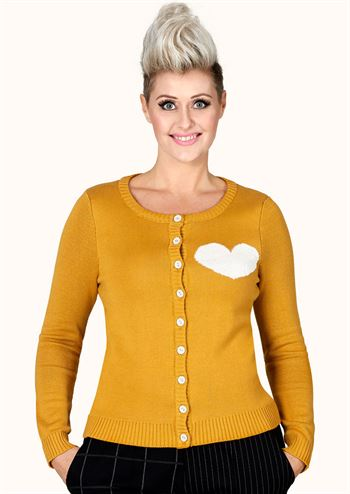 Margot cardigan Canary Currylove no 1507