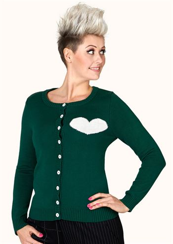 Margot cardigan Emerald Greenlove no 1513