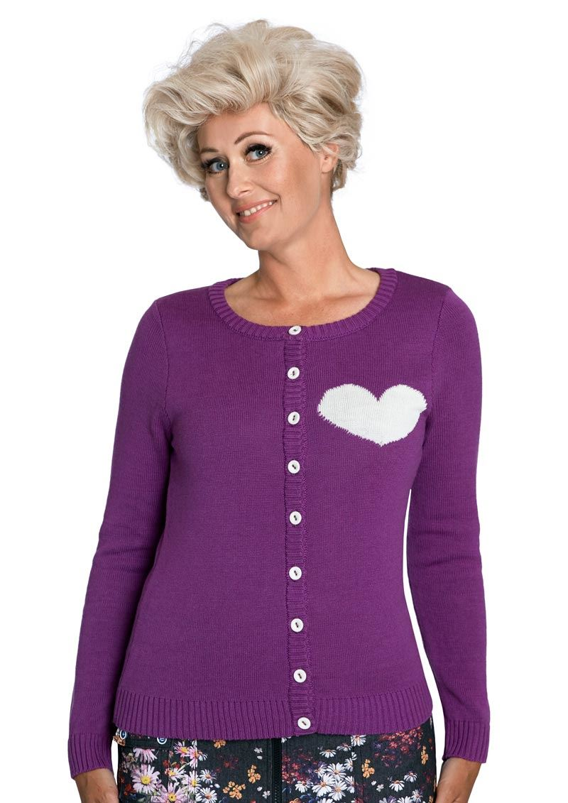Margot cardigan Moloko Purplelove no 1510